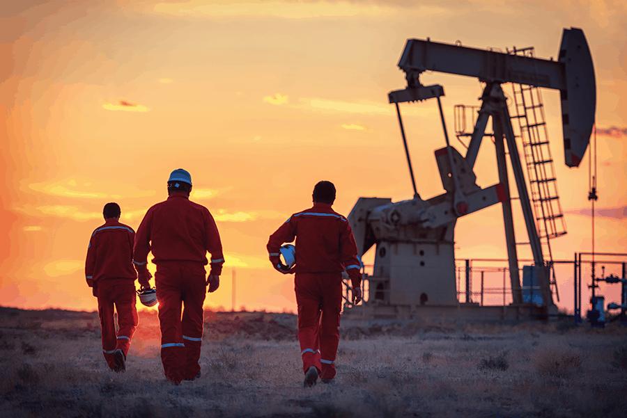 Energy Program Oil Field Workers